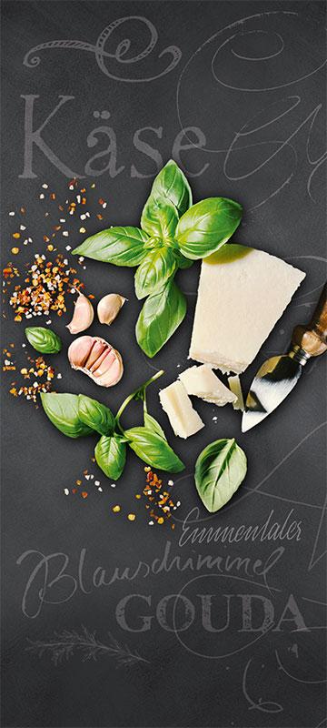 Susanne von Strauch: Plakat EDEKA Lebensmittel, leichte Kost