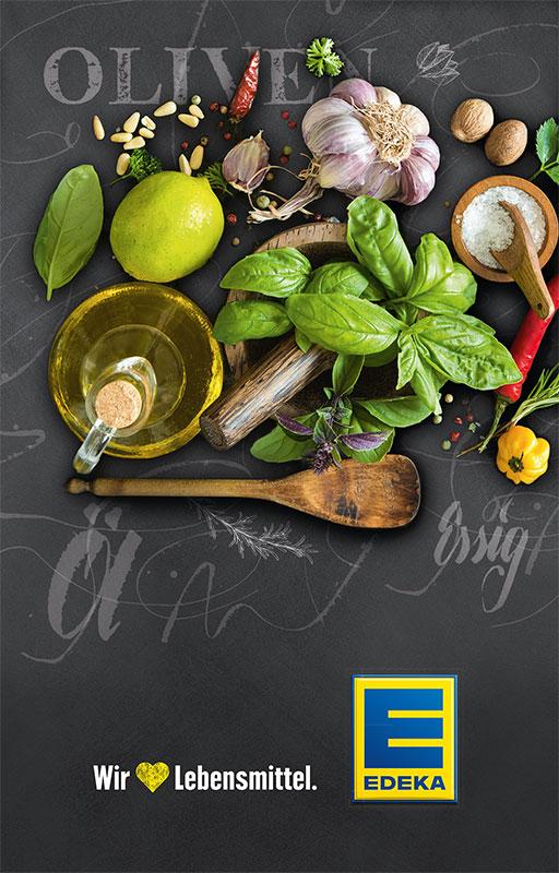 Plakat EDEKA Lebensmittel