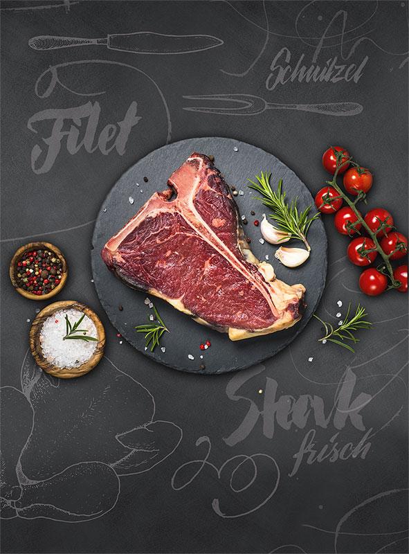 Susanne von Strauch: Plakat EDEKA Lebensmittel
