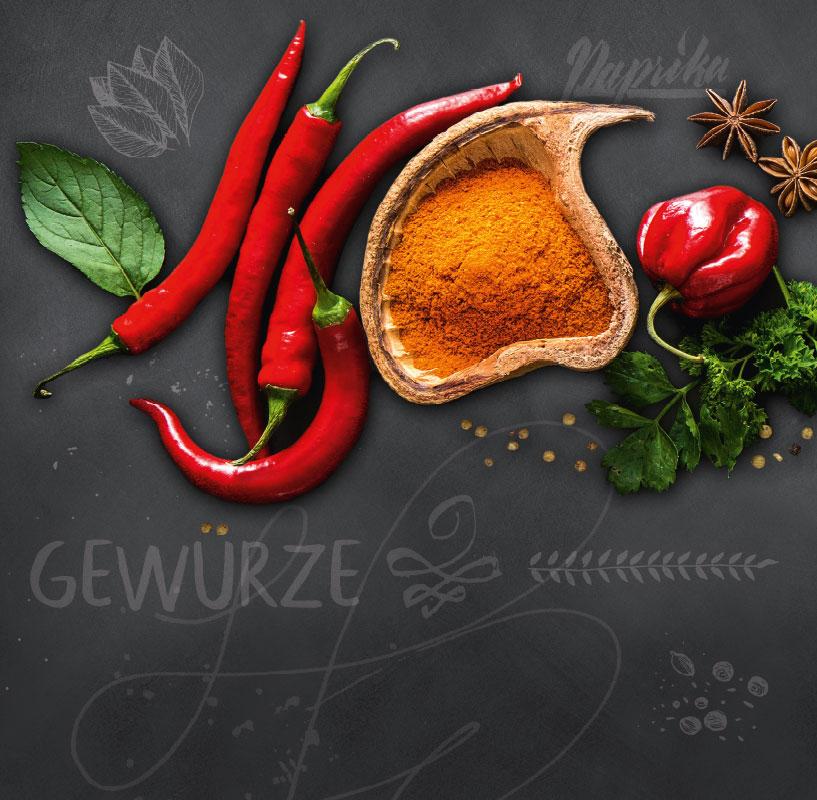 Susanne von Strauch: Plakat EDEKA Gewürze