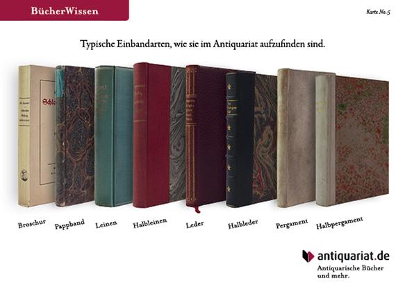 Susanne von Strauch: Karte Antiquariat.de Einbände Bücher