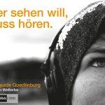 """Susanne von Strauch - """"Wer sehen will muss hören"""" Audioguide Quedlinburg"""